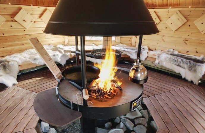 grillhote kota grill chalet finlandais, scanidnave