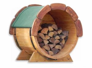 Abri bois kota sauna