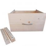 tiroir pour chalet en bois finlandais kota grill et pavillon gloriette