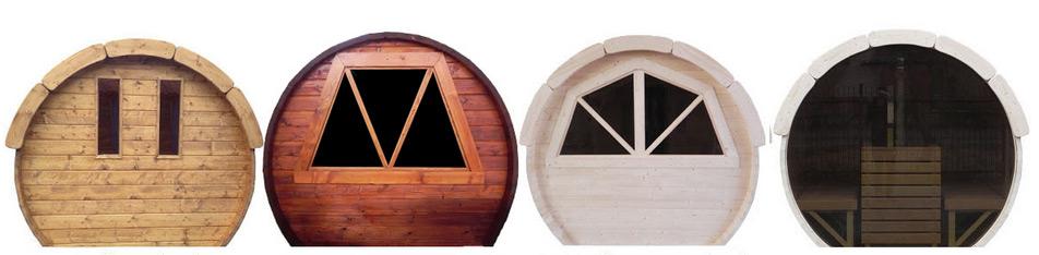 fenêtres pour kota sauna