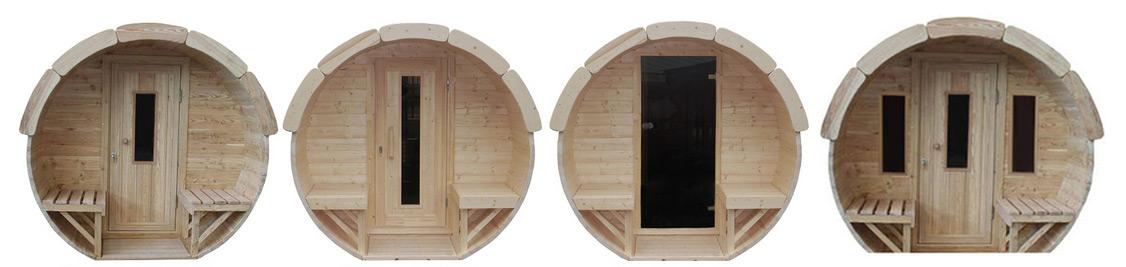 porte pour kota sauna