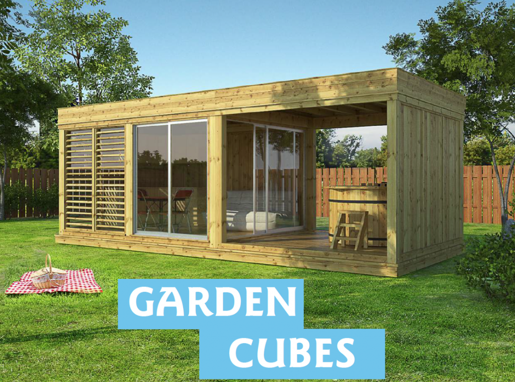 nouveau cubes de jardin garden cubes kota grill chalets bois. Black Bedroom Furniture Sets. Home Design Ideas