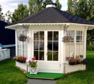 pavillon gloriette 10 m2, chalets kota grillhote